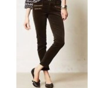 Ag Adriano Goldschmied Pants - Black courdory pants